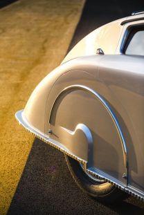 1936 Voisin C28 Aerosport rear detail