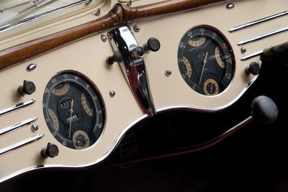 1937 Delahaye 135 Competition Court Roadster Detail