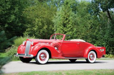 1938 Packard Super Eight Convertible Coupe