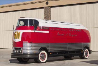 1950 General Motors Furturliner Parade of Progress Tour Bus