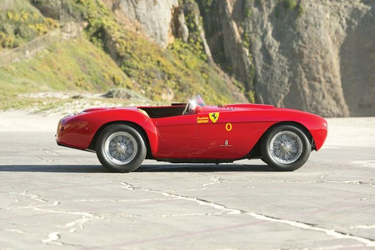 1954 Ferrari 500 Mondial Spider Series I Side