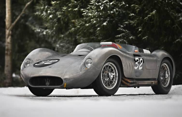 1956 Maserati 200 SI (photo: Mathieu Heurtault)