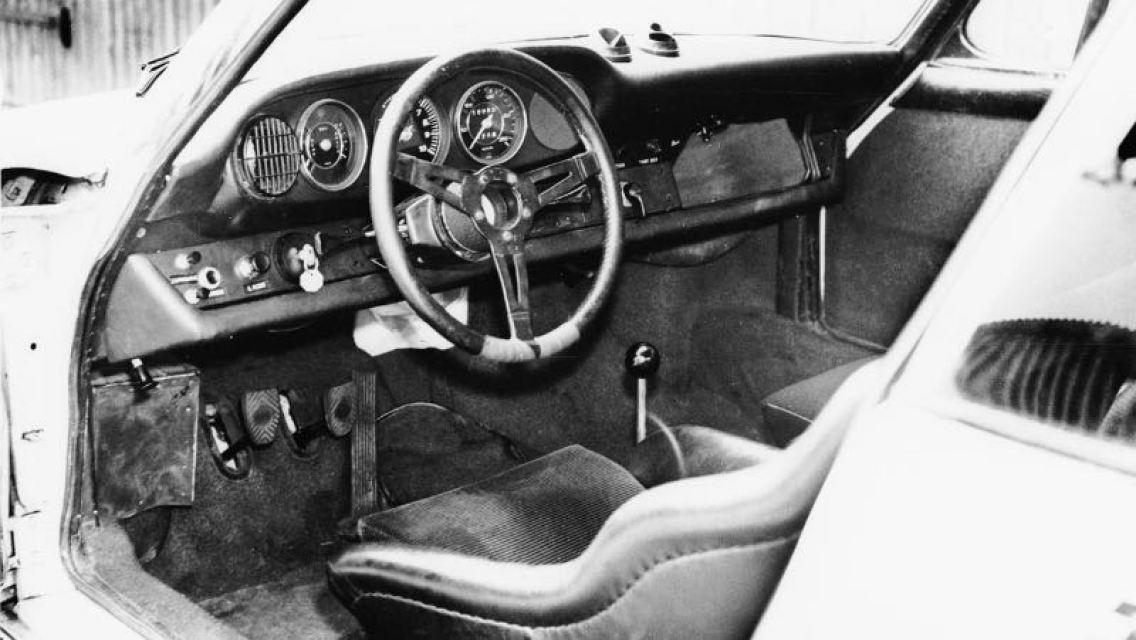 Interior of the Porsche 911 R, 1967, Porsche AG