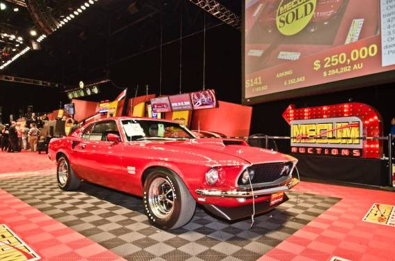 1969 Ford Mustang Boss 429 Fastback sold for $240,000