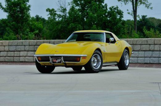 1972 Chevrolet Corvette Convertible with 4 miles
