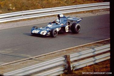Francois Cevert's Tyrrell in Saturday practice