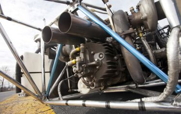 1973 Porsche 917 Can-Am Spyder Engine Detail