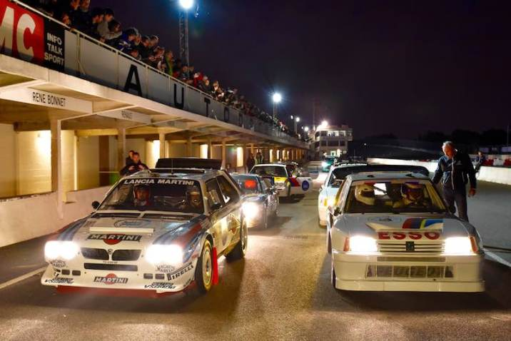 Group B Rally Cars at Les Grandes Heures Automobiles
