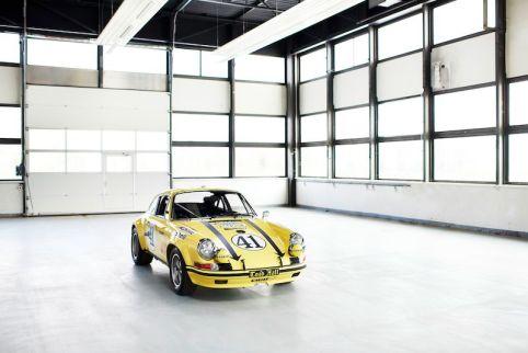 The restored 1972 Porsche 911 2.5 S/T