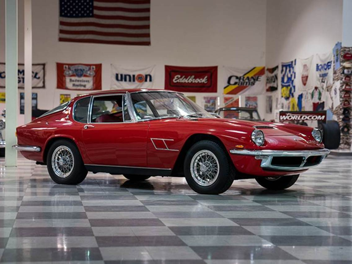 1967 Maserati Mistral Coupe,