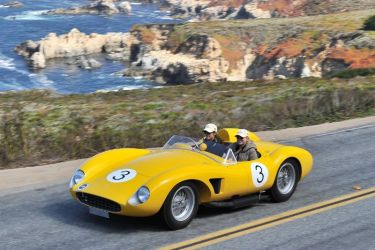 1957 Ferrari 500 TRC Spider Scaglietti
