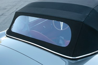 Restored chrome, brightwork and convertible top