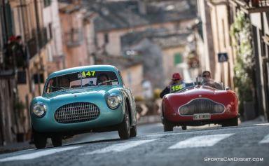 1947 Cisitalia 202 B Berlinetta Pinin Farina and 1947 Stanguellini 1100 Sport