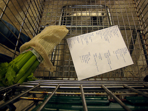 grocery list photo