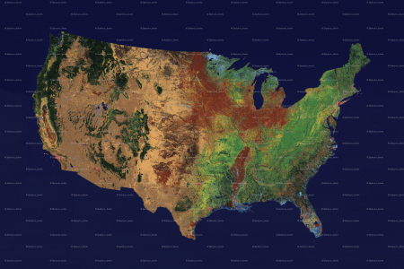 topographic map us