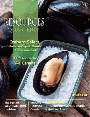 Resources Quarterly - Fall 2013