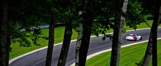Team BMW RLL at 2013 ALMS at Lime Rock Park.