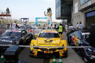 Oschersleben (DE) 12th September 2015. BMW Motorsport, Race 13, Winner Timo Glock (DE) BMW Works Driver. This image is copyright free for editorial use © BMW AG (09/2015).