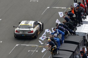 The BMW M6 GT3 Struggles at the 24 Hours of the Nurburgring