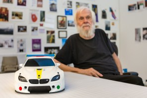 BMW's 18th and 19th Art Cars Begin to Tape Shape