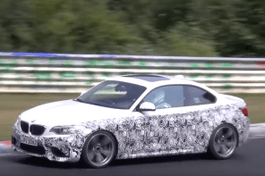 Is this the First BMW M2 GTS Prototype Testing at the Ring?