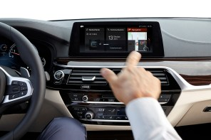 BMW 5 Series Wins EyesOnDesign Best Designed User Experience Award