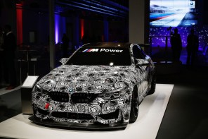 Our First Look at the New BMW GT4 Race Car