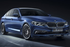 World Debut: 608 HP BMW Alpina B5 Biturbo