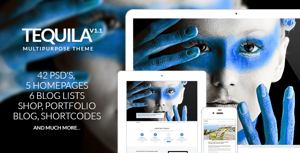 Download TEQUILA – Multi-Purpose PSD Template Portal Joomla Templates
