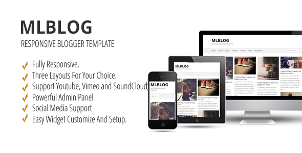 Download MLBLOG - Responsive Blogger Template Elegant Blogger Templates