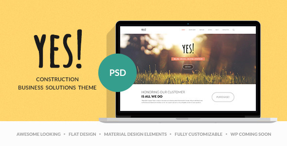 Download Yes! | Multi Purpose PSD Template Portal Joomla Templates