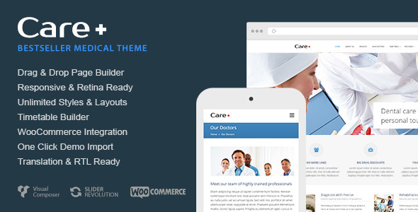 Download Care - Medical and Health Blogging WordPress Theme Health WordPress Themes