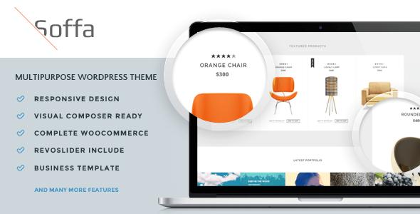 Download Soffa - Furniture & Business WordPress Theme Furniture WordPress Themes