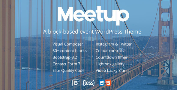 Download Meetup | Conference & Event WordPress Theme Event WordPress Themes