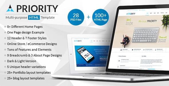 Download Priority | Multipurpose HTML5 Template Education Joomla Templates