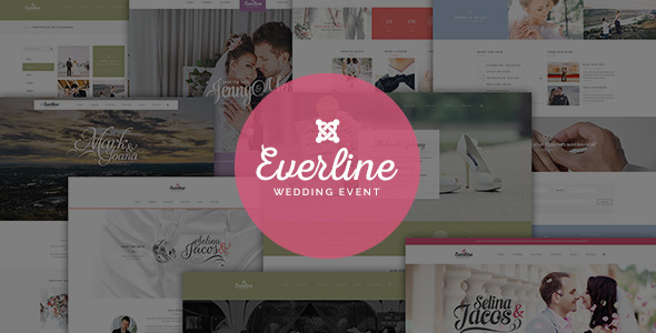 Download Everline - Wedding Joomla Template Event Joomla Templates