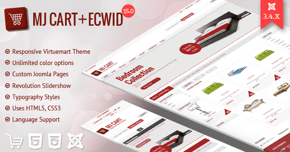 Download Mj Cart - Responsive Virtuemart Template Html5 Joomla Templates