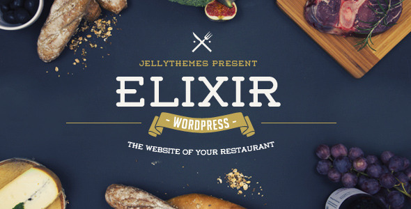 Download Elixir - Restaurant WordPress Theme Restaurant Wordrpess Themes