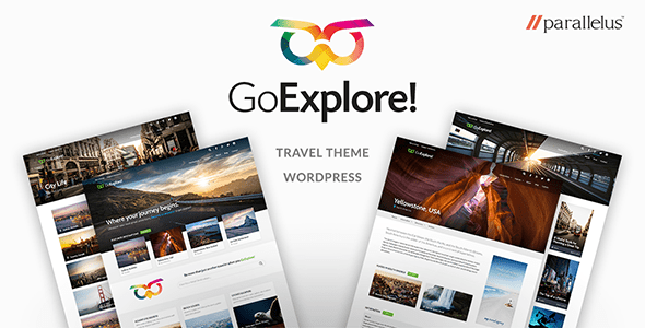 Download Travel WordPress Theme - GoExplore! Travel WordPress Themes