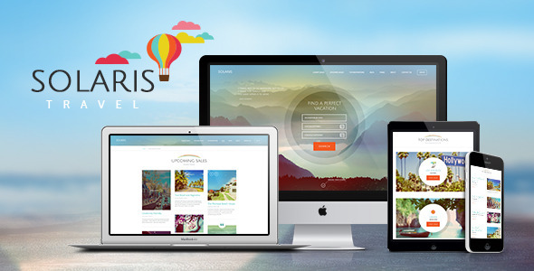 Download Solaris | Travel Agency WordPress Theme Travel WordPress Themes