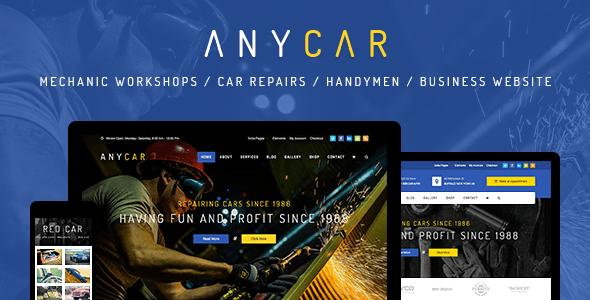 Download Automotive, Car Dealer, Dealership WordPress Theme - AnyCar Automotive WordPress Themes