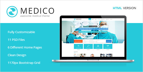 Download Medico -Medical & Health HTML5 Template Amp WordPress Themes