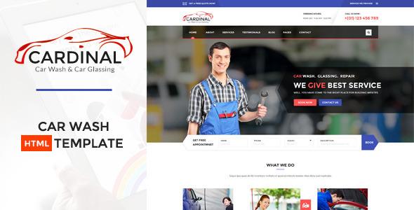 Download Car dinal - Car Wash & Workshop HTML Template Car Html Templates