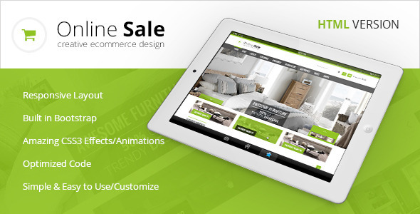 Download Online Sale - Responsive HTML5 eCommerce Template Amp WordPress Themes