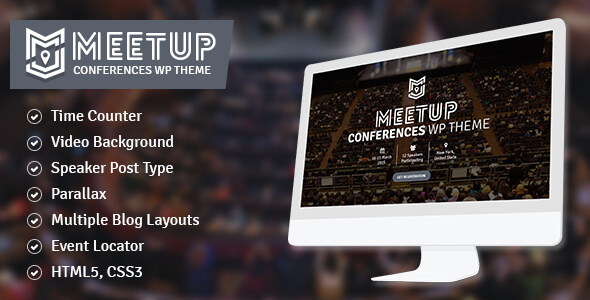 Download The Meetup - Conference, Event WordPress Theme Event WordPress Themes