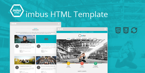 Download imbus - Simple HTML Template Simple Html Templates