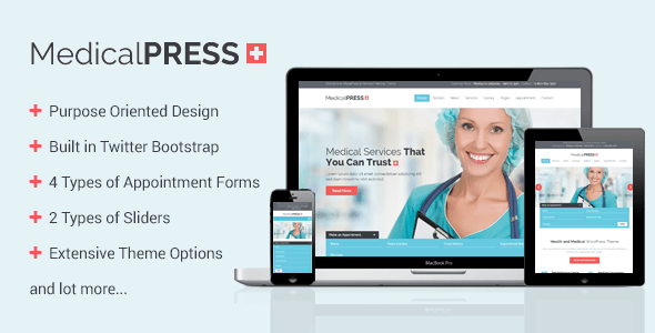 Download MedicalPress - Health and Medical WordPress Theme Hospital WordPress Themes