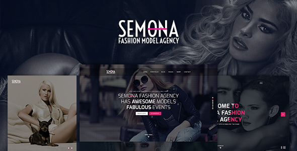 Download Fashion Semona - Creative Joomla Template Elegant Joomla Templates