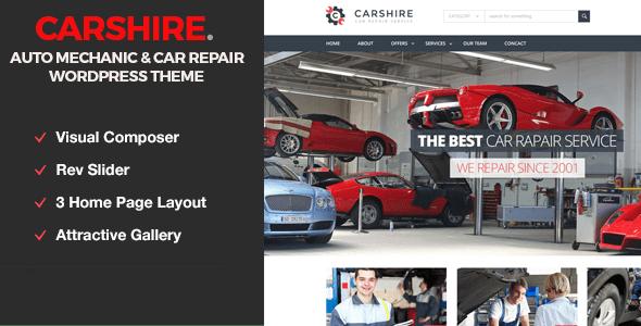 Download Car Shire || Auto Mechanic & Car Repair WordPress Theme Car WordPress Themes