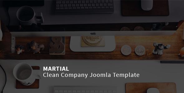 Download Martial | Clean Company Joomla Template Clean Joomla Templates